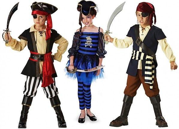 костюм ребенка на пиратскую вечеринку