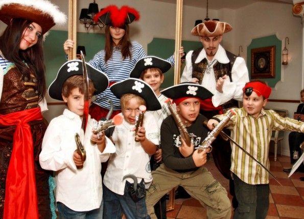 Как одеть ребенка на пиратскую вечеринку фото