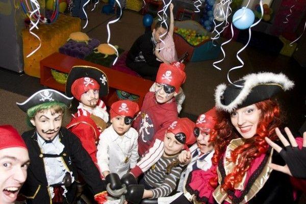 детская пиратская вечеринка