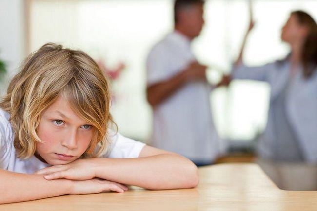 Развод с ребенком