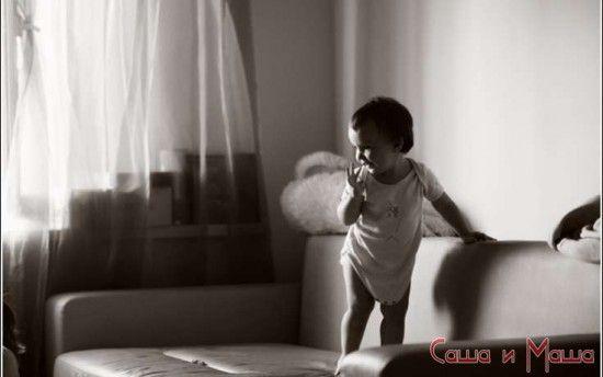 как почистить диван от детской мочи