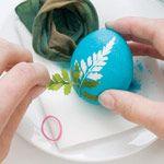 яйца с листочками