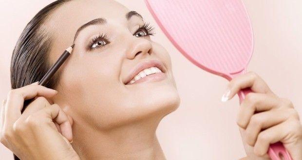 Как правильно красить брови? Макияж карандашом