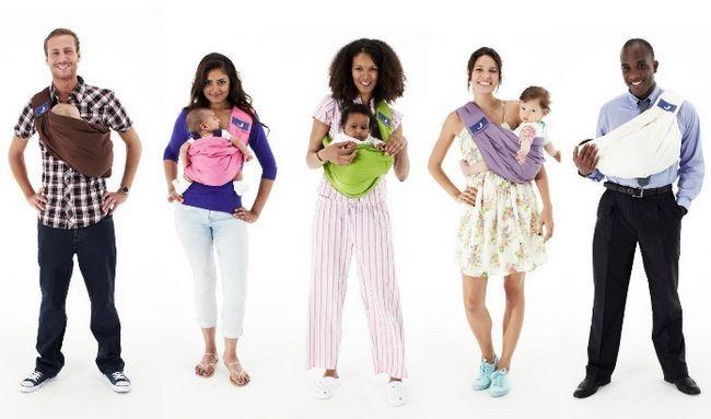 Как правильно носить ребенка в слинге