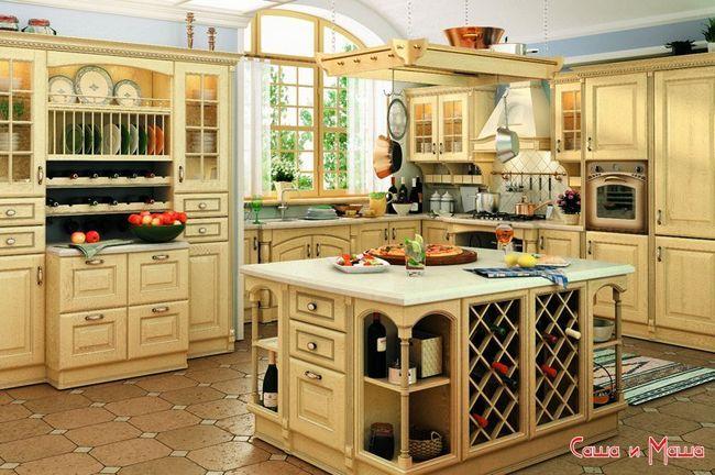 правильно обставить кухню фото
