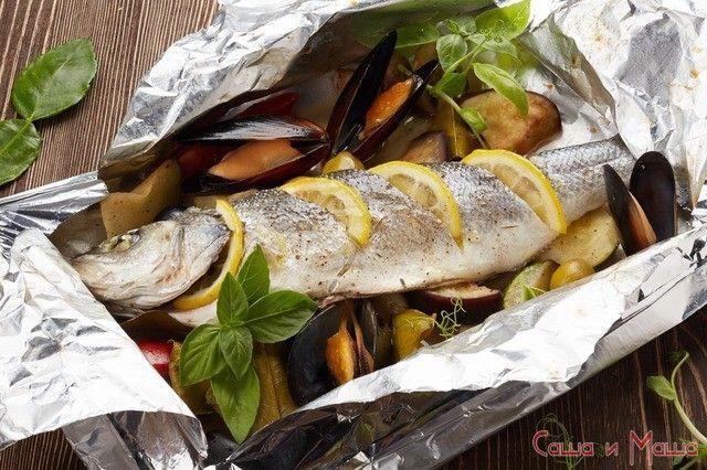 приготовления рыбы в фольге