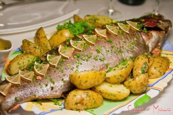 Рецепт запеченной рыбы в фольге