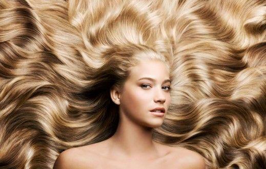 Длинные волосы после диеты