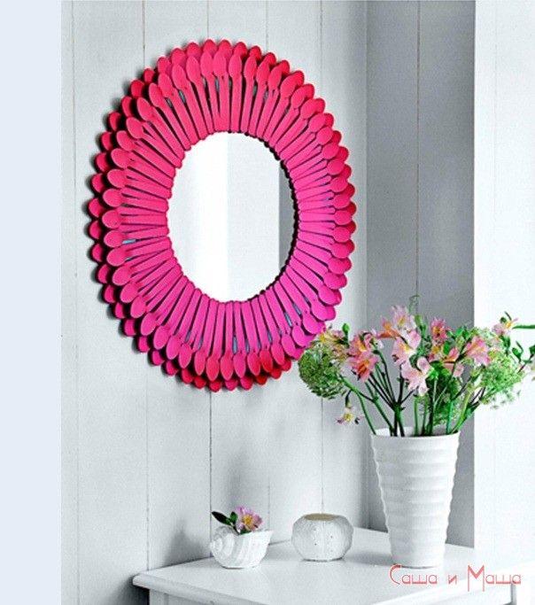 зеркало для уюта в комнате