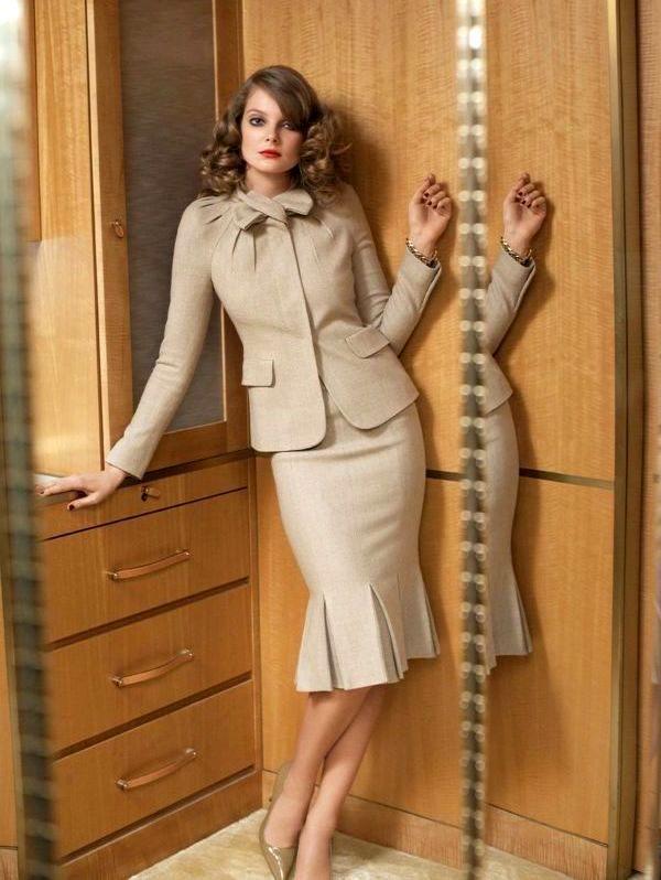 Как современная юбка-годе улучшает фигуру