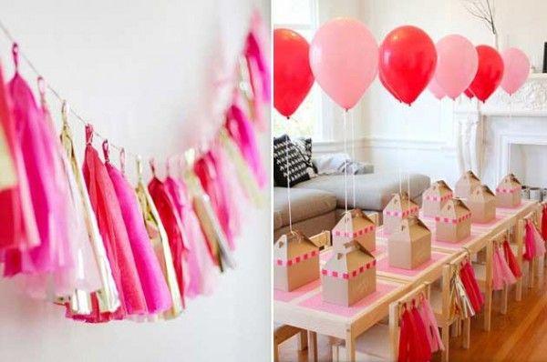 Как украсить комнату на день рождения своими руками в стиле китти