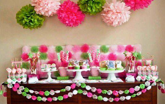 Как украсить комнату на день рождения своими руками цветами