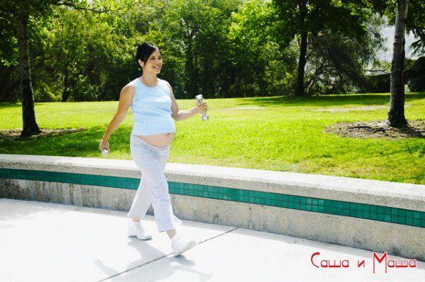 бег во время беременности