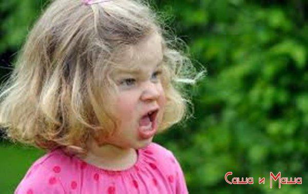 Капризы ребенка со слезами