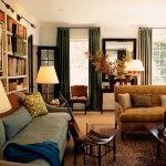 Серо-коричневая мебель