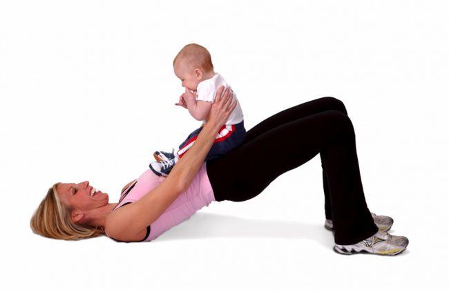 Комплекс упражнений после родов в домашних условиях