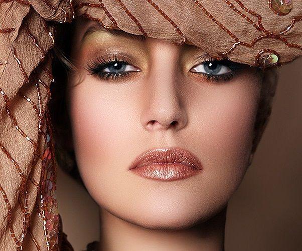Коричневые тени. Коричневый макияж