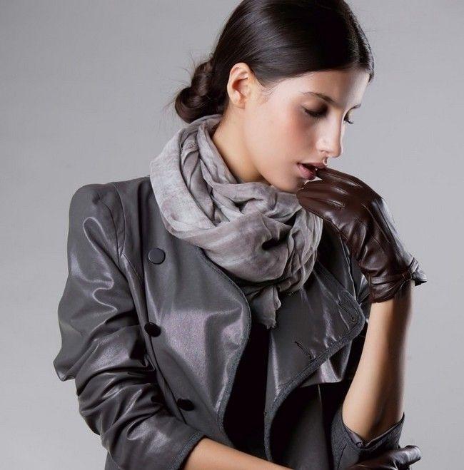 Кожаные перчатки – незначительная деталь или важный аксессуар?