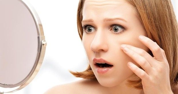 Красные пятна на коже лица: причины и лечение