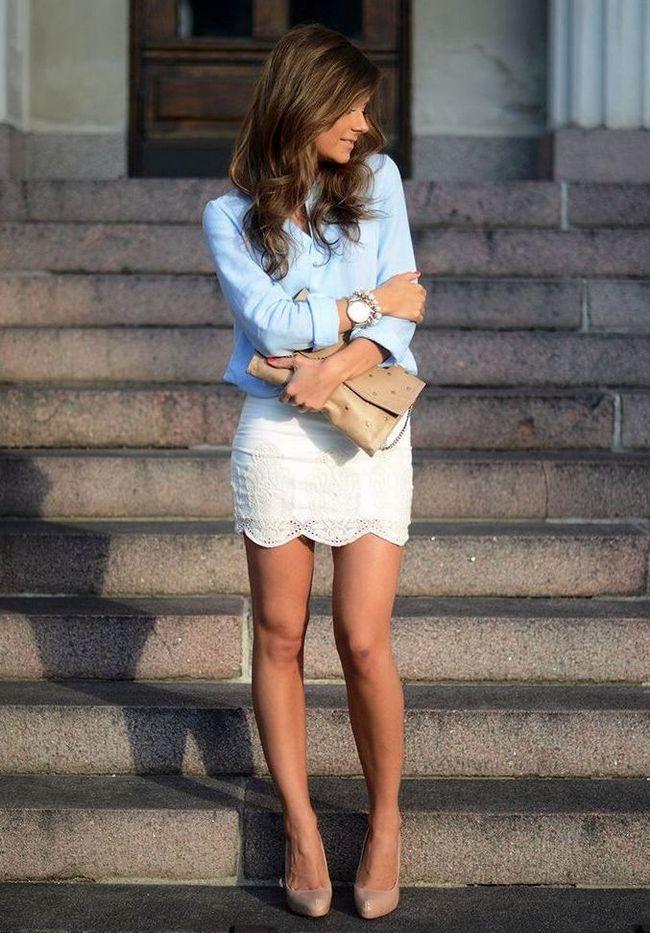 Кружевные юбки
