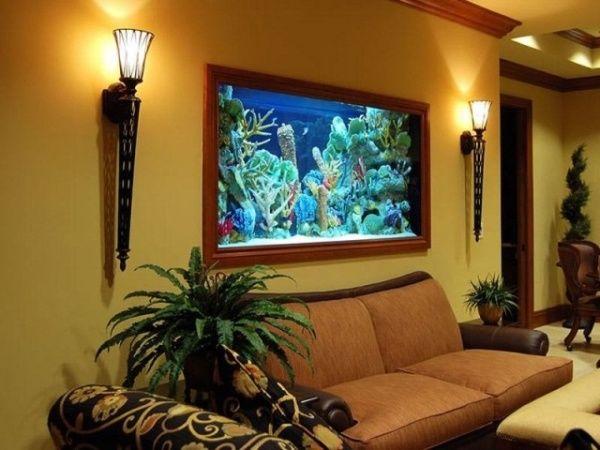 Куда ставить аквариум по фен шуй