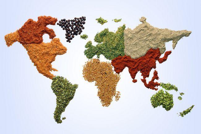 Кухни разных стран мира
