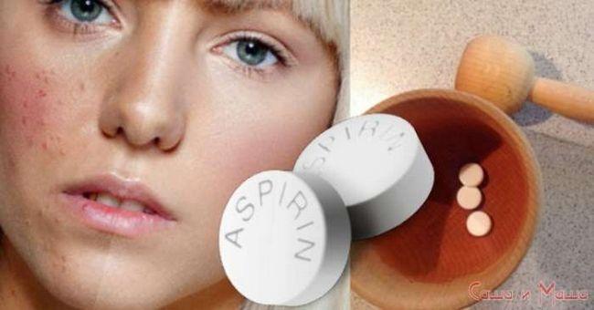 Маска из йогурта и аспирина для проблемной кожи
