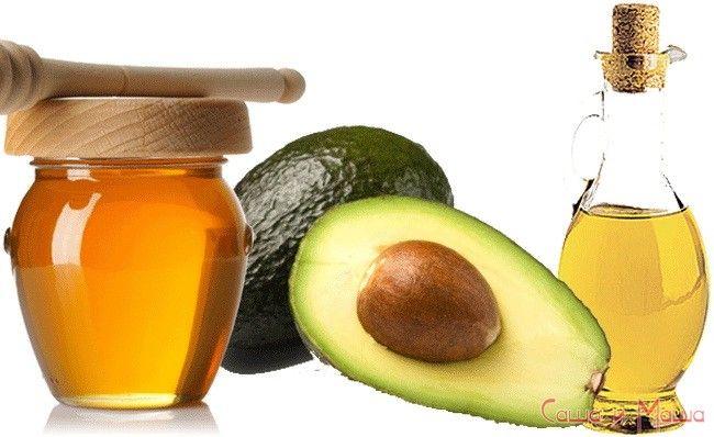 Маска из авокадо и мёда для сухой кожи лица