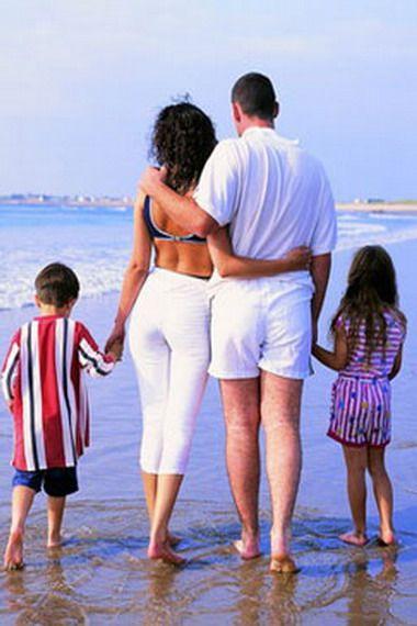 Лучший отдых — это семейное путешествие