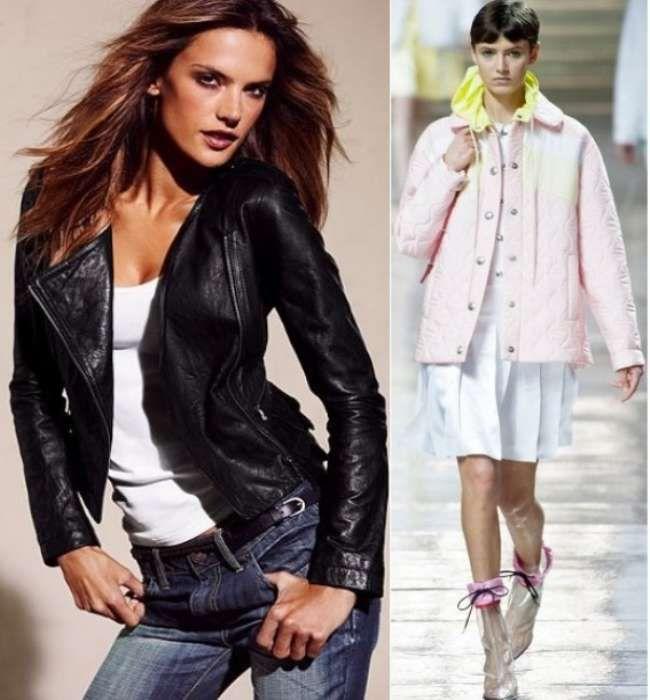 Модные теплые куртки для женщин на осень 2015 года