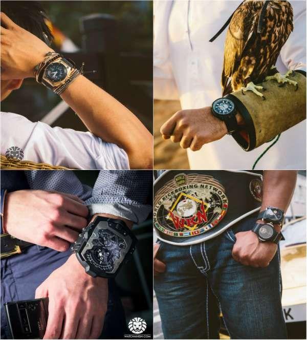 Модные мужские часы весна-лето 2016 фото