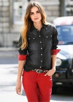 Блуза с мелкими пуговицами