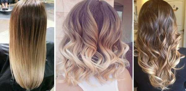 Современные виды окрашивания волос - фото