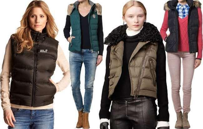 Модные жилетки осень-зима 2015-2016