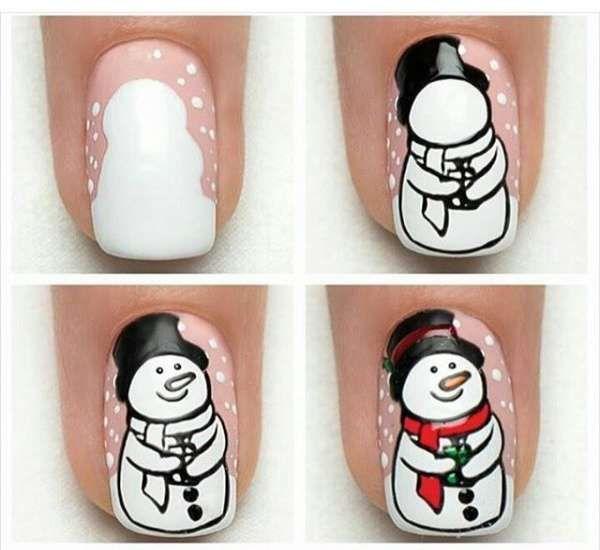 Модный дизайн ногтей шеллаком зима 2016-2017 фото(11)