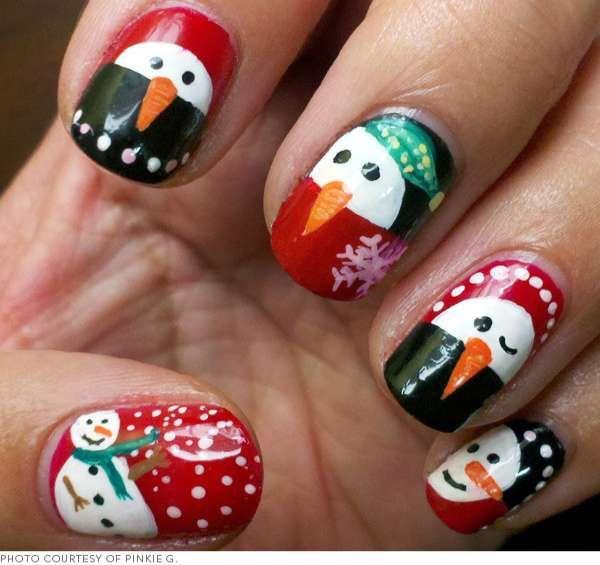 Модный дизайн ногтей шеллаком зима 2016-2017 фото(12)