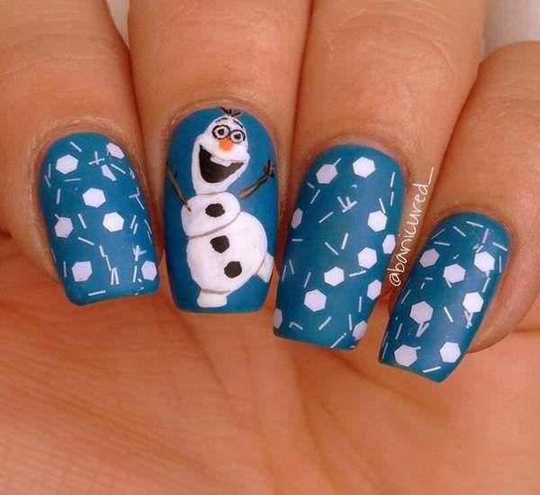 Модный дизайн ногтей шеллаком зима 2016-2017 фото(13)