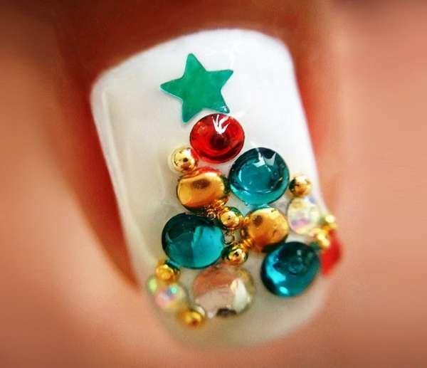 Модный дизайн ногтей шеллаком зима 2016-2017 фото(21)