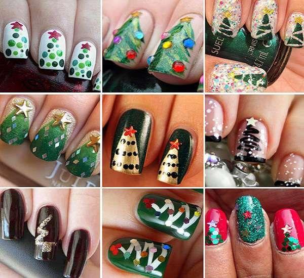 Модный дизайн ногтей шеллаком зима 2016-2017 фото(23)