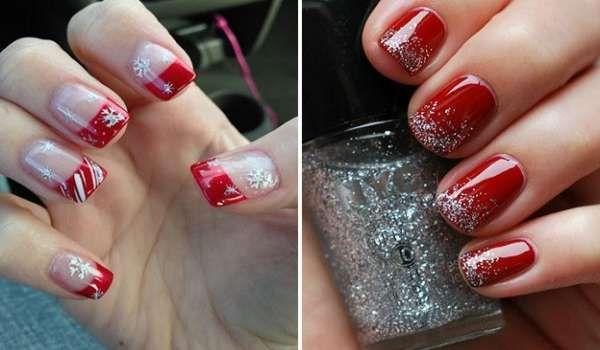 Модный дизайн ногтей шеллаком зима 2016-2017 фото(28)