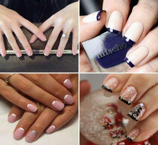 Модный дизайн ногтей шеллаком зима 2016-2017 фото(30)