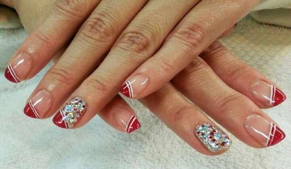 Модный дизайн ногтей шеллаком зима 2016-2017 фото(31)