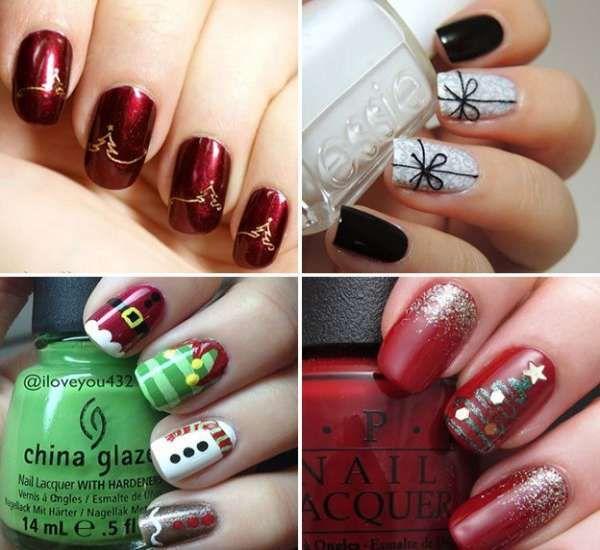 Модный дизайн ногтей шеллаком зима 2016-2017 фото(35)