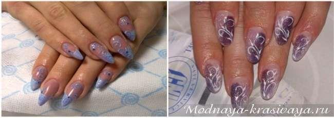 Модный зимний маникюр 2015: морозные рисунки на ногтях