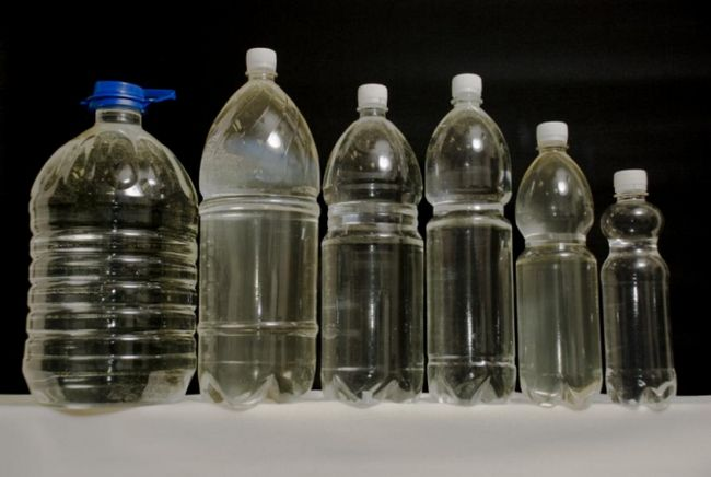 спирт в пластиковой таре