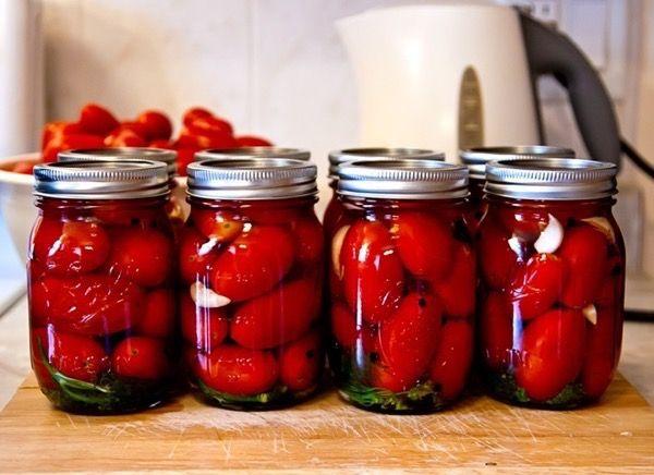 Необычные помидоры на зиму : 5 рецептов + видео