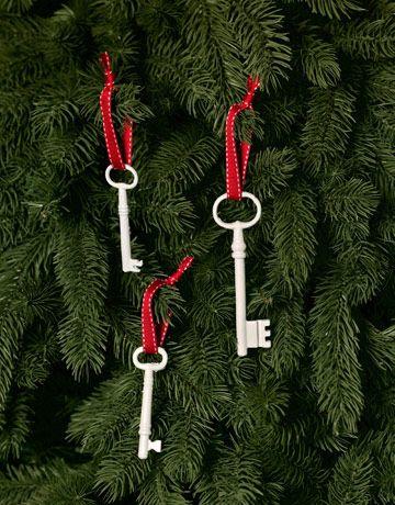 ключи на елке