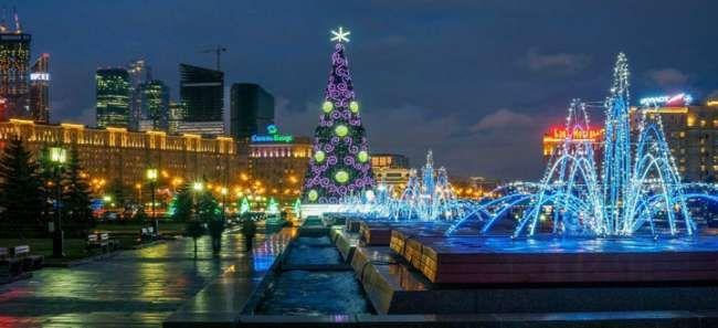 Новый 2016 год в Москве
