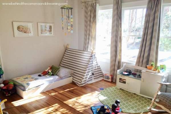 дизайн маленькой детской комнаты (8)