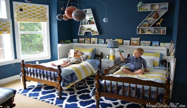 дизайн маленькой детской комнаты (11)
